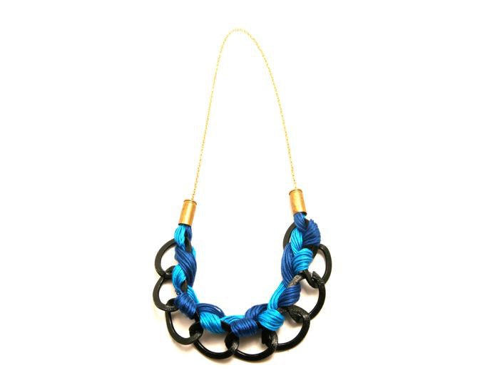 BRAIDED SELECTION NECKLACE