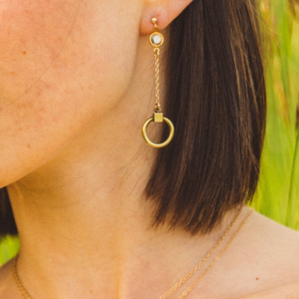 SUNNY DISPOSITION EARRINGS
