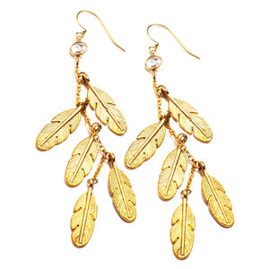 MIDAS TOUCH EARRINGS