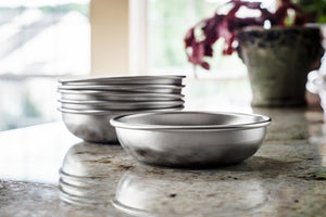 Stainless Steel Cat Food & Water Bowls