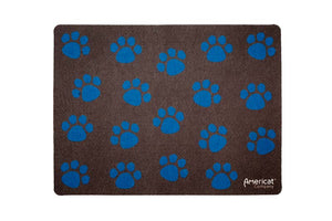 Cat paw print placemat