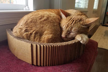 Load image into Gallery viewer, Cat scratcher lounge bed