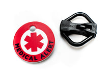 Load image into Gallery viewer, Americat medical alert cat ID tag and holder