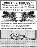 Oakland Stays Fresh ~ Organic Castile Bar