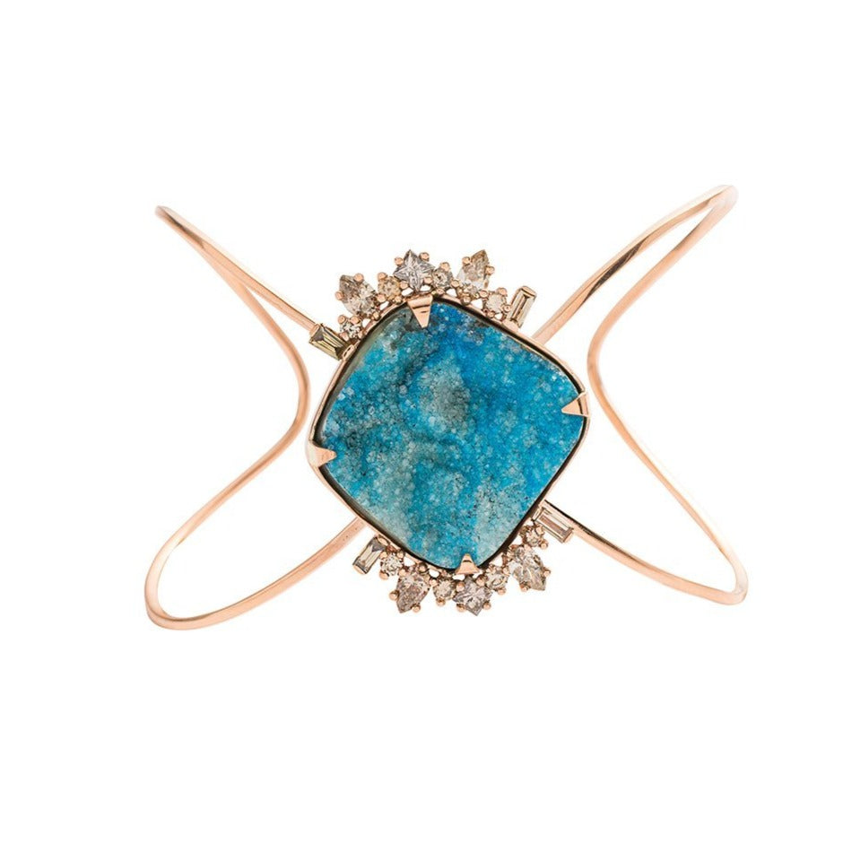 Meredith Young Jewelry Sunrise Druzy Cuff