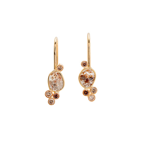 Motley Diamond Earrings