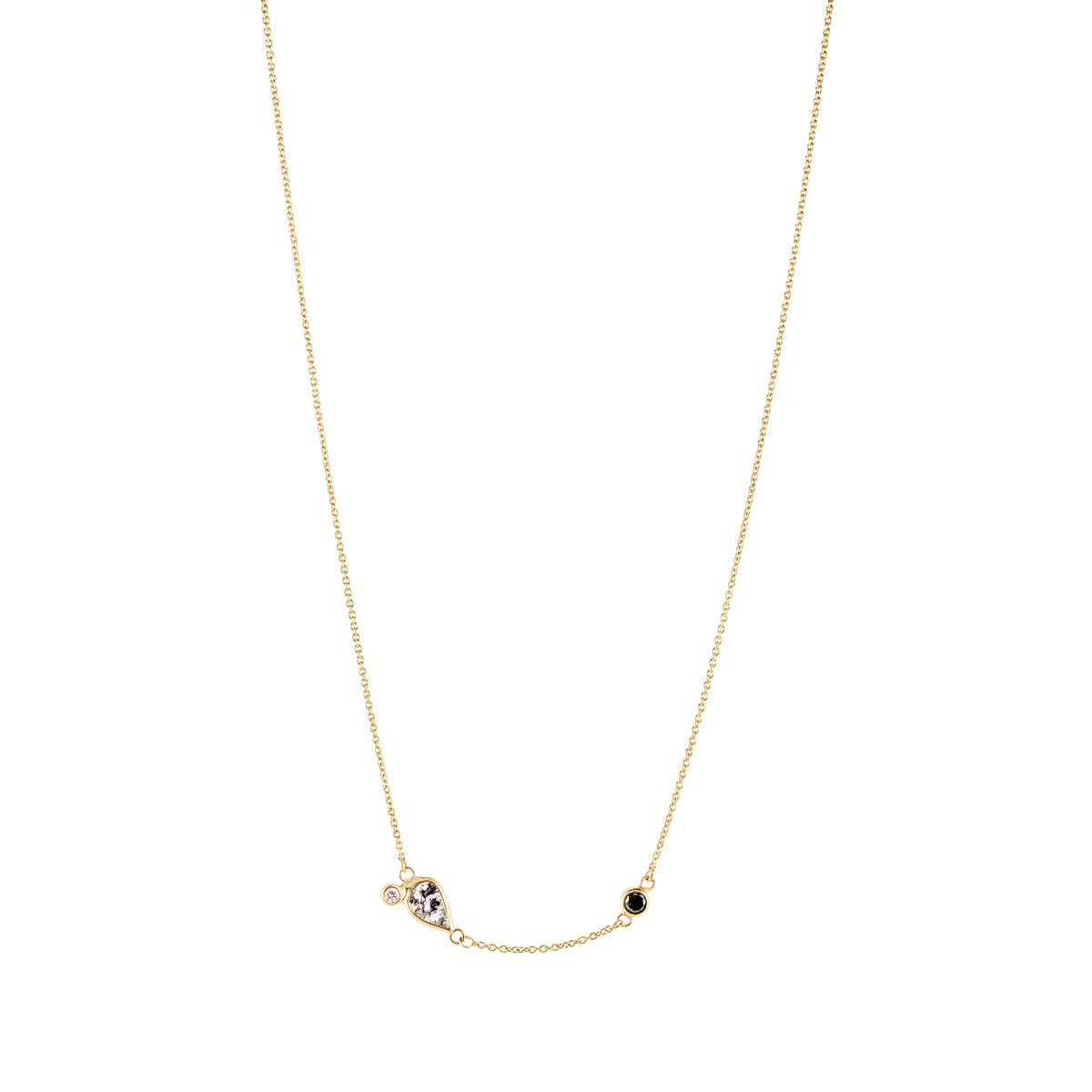 Meredith Young Jewelry Storm Diamond Necklace