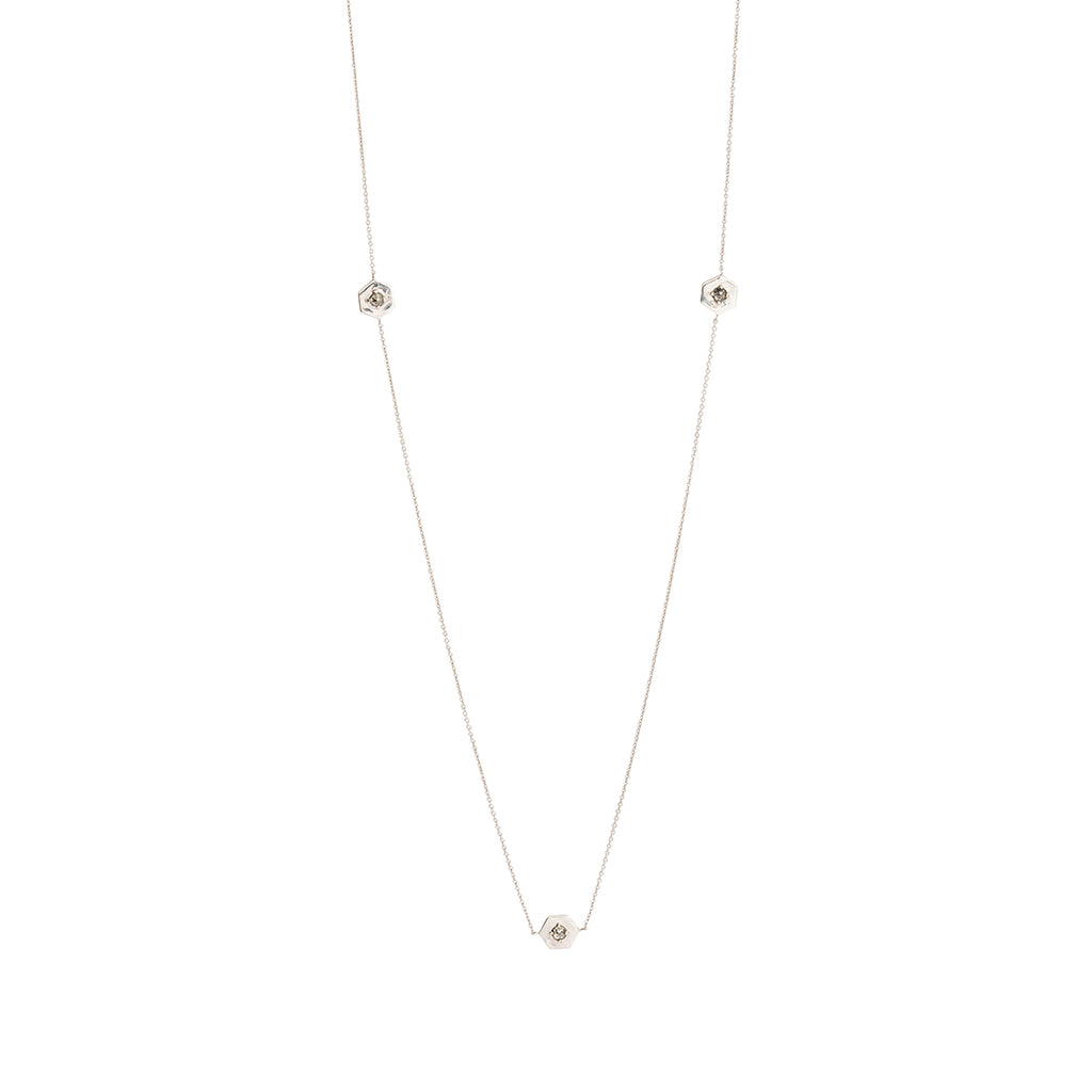 Mini Webb Diamond Necklace