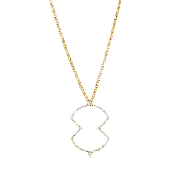 Meredith Young Jewelry Long Shield Necklace