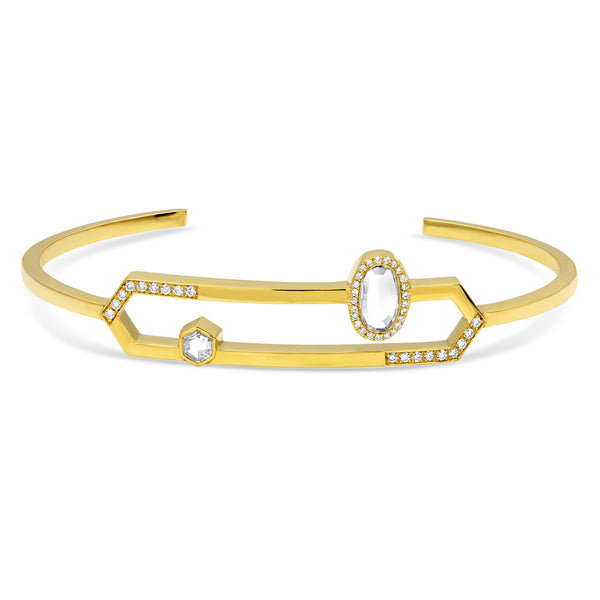 Diamond Bar Cuff