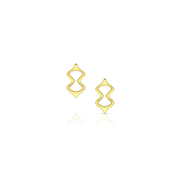 Petite Figure Eight Post Earrings