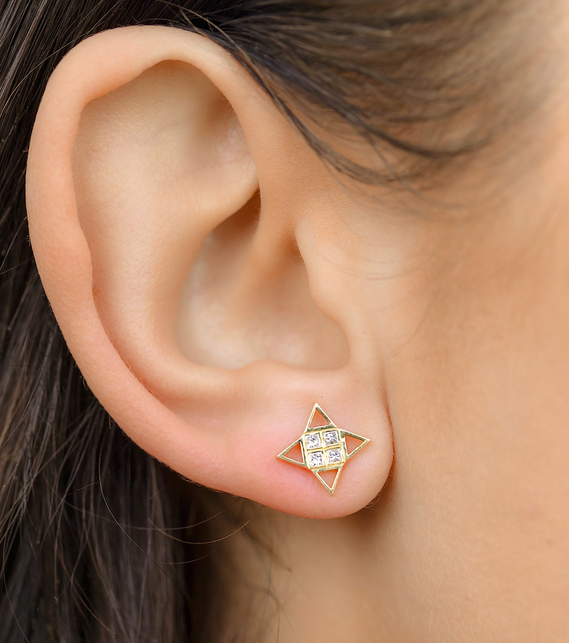 Little Star Post Earrings