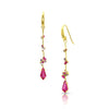 Luxe Threaders with Tourmaline Kite