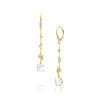 Luxe Threaders with Moonstone Dangles