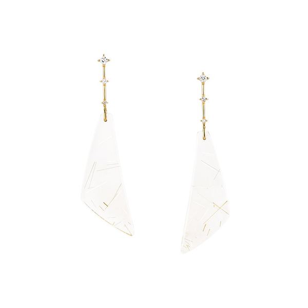 Shard Drop Earrings