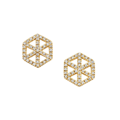 Webb Diamond Earrings