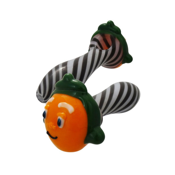 Oompa Loompa Spoon by Chameleon Glass