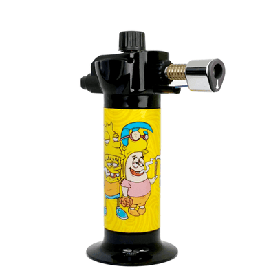 Pass This Way SpongeBob and Simpsons Torch Lighter