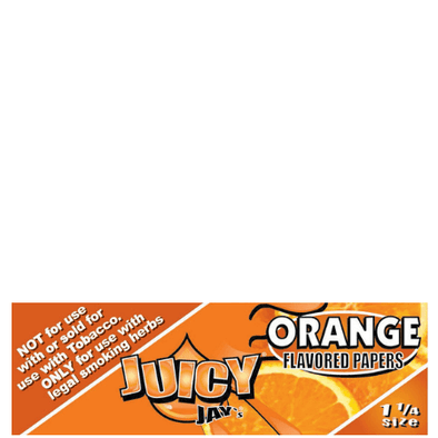 Juicy Jay's 1 1/4 Orange Flavored Papers – 24 Pack Box