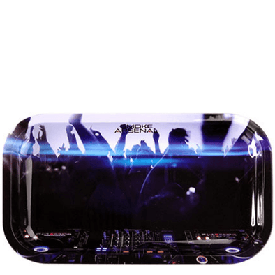 Rave Metal Rolling Tray (10.8″ x 6.8″)