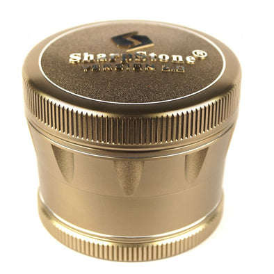 "SharpStone 4-Piece Version 2.0 Grinder Pollinator Colored 2.5"" - Bronze"