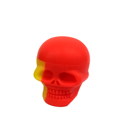 Skull shaped silicone jars