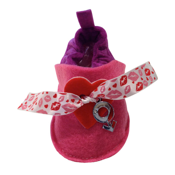 Pre Walker Soft Crib Baby Shoes for Infants, Newborns | CooShoe Collection | Be My Valentine