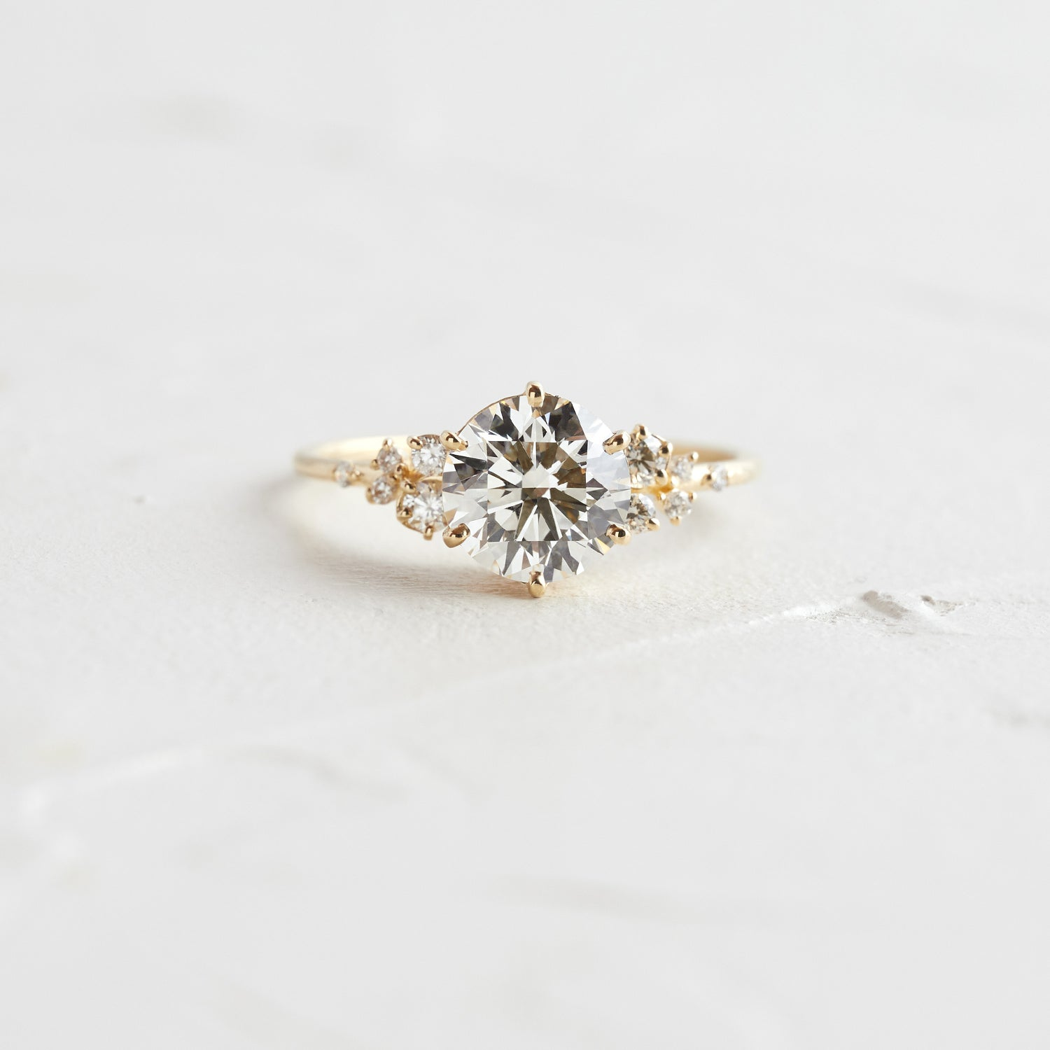 Diamond Snowdrift Ring, 1.3ct.