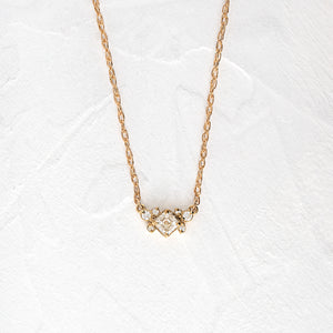 Diamond Posy Necklace