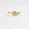 Yellow Diamond Daybreak Ring