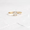 Unveiled Ring, 0.8ct. Cushion Cut Diamond