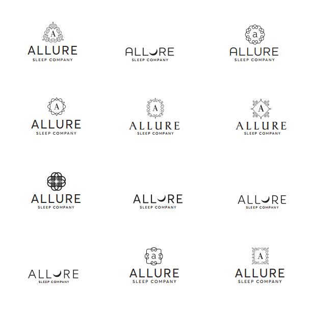 list of different allure logos