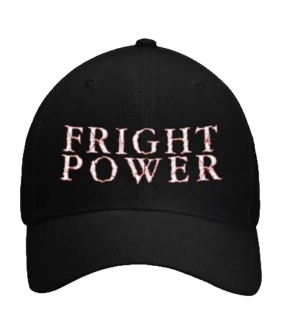 FRIGHT POWER hats (NEW & improved!) Curved Bill Velcro Strap