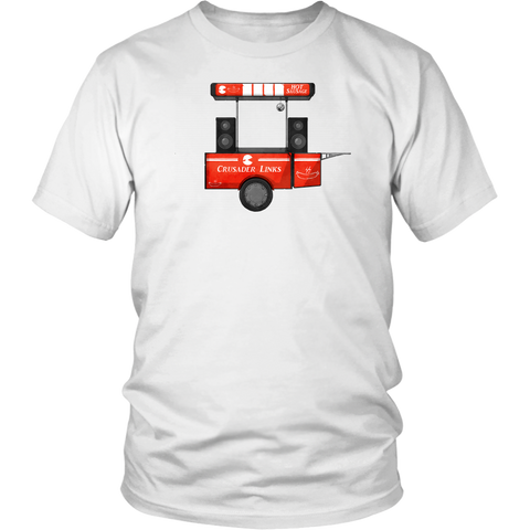 Crusader Links Sausage Cart shirt!