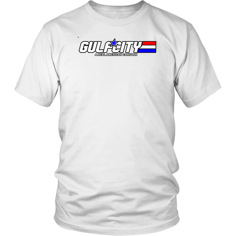 Gulf City logo shirts (G.I. Joe)