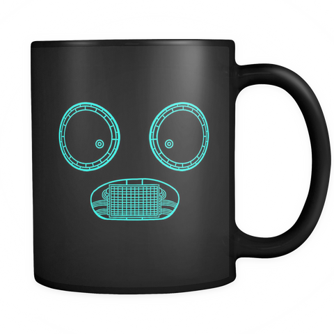 Ghastly Schematic Ghostface Mugger Coffee Mug