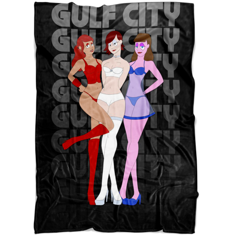 Gulf City Girls FLEECE BLANKET