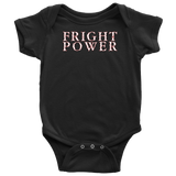 FRIGHT POWER Onesie!