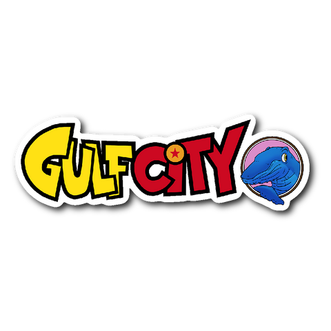 Gulf City DRAGONBALL Z logo Stickers!