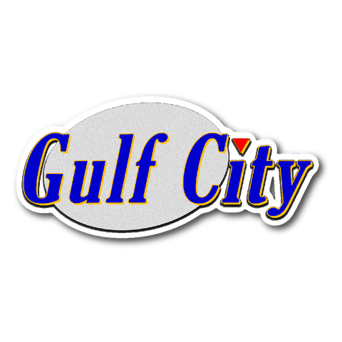 Gulf City Seinfeld Logo Sticker