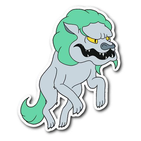 Chinese Werewolf Sticker!