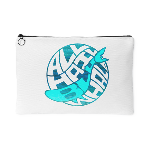 All Hail Blue Whale accessory pouch in 2 sizes!