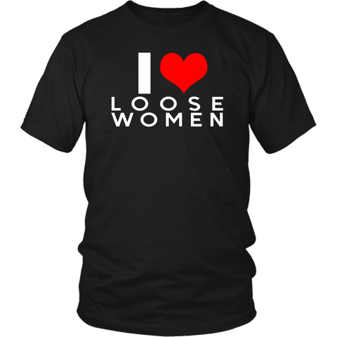 I HEART LOOSE WOMEN T-Shirt