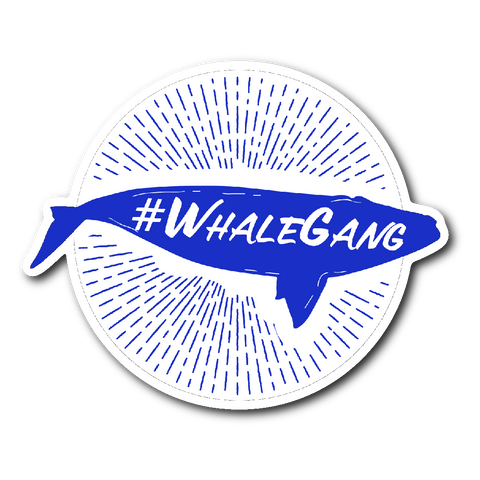 #WhaleGang Sticker