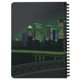GULF CITY spiral notebook (Night version)