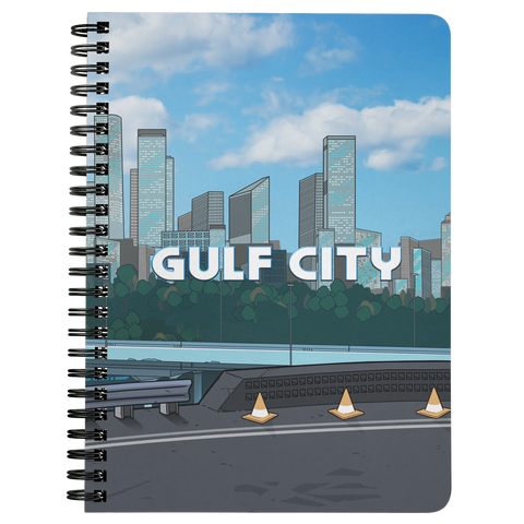 GULF CITY spiral notebook (Day version)