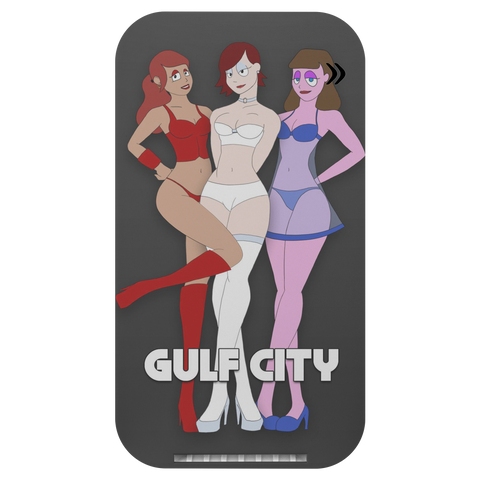 Girls of GULF CITY Wireless Charger & Phone Stand