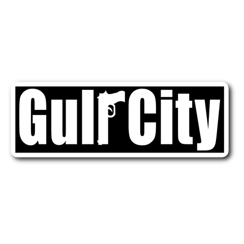 GULF CITY logo sticker (Sopranos)