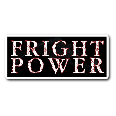 Fright Power Sticker