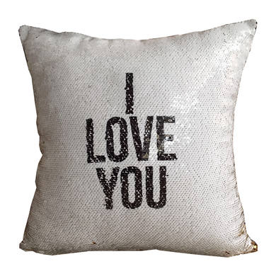 'I LOVE YOU' - Reveal Cushion Cover
